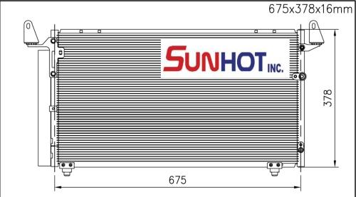 Toyota TUNDRA - CTY062 - 散热片