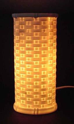 Bone China Table Lamp