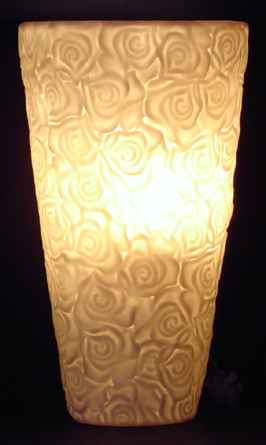 Bone China Wall Lamp