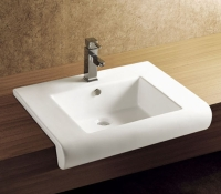 Above counter basin