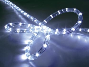 LED 2 Wire Rope Light (round shape)