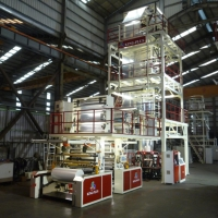 Three-layer Co-extruder Blowing Film Production Line