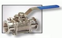 三片式焊接對接真空閥