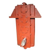 Gearboxes for traverse cranes/hoists