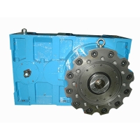 Gearboxes for extruders