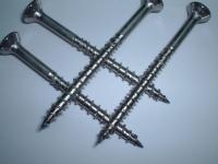 Wood screw (dual-spiral)