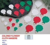Flowery Cloth Hangers