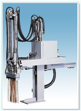 die casting machinery/cold chamber die casting machine  /Automatic Sprayer-Linear Type