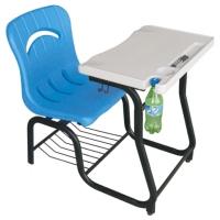 环保学生单人连结课桌椅