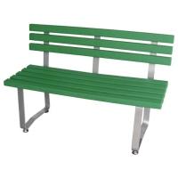 环保附靠背公园椅
