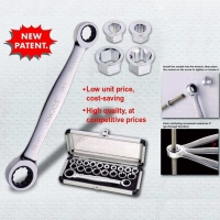Socket Wrench Sets/ Sockets/ The Interchangeable Wrench Set/ Double-Ended Interchangeable Ratchets