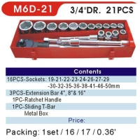 Sockets / Socket Wrench Sets / 3/4