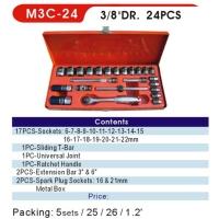 Sockets / Socket Wrench Sets / 3/8