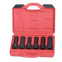 6PCS 3/4 Dr.Impact socket 17-19 -E18-E20-E22-E24 110mmL