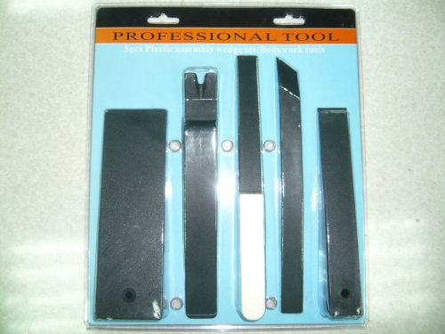 5pcs Plastic assembly wedge set/Bodywork tools
