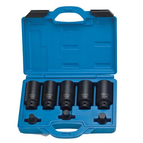 """8pcs 1/2"""" Dr. drive shaft socket kit"""