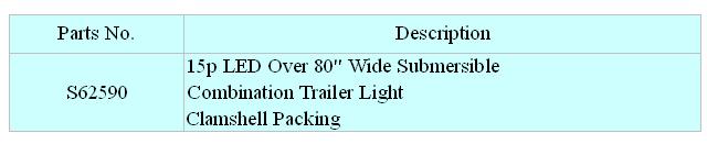 15p LED Over 80