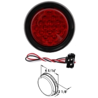 16p LED 4 Round Sealed Stop, Turn and Tail Light
