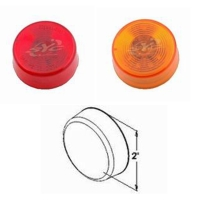 10p LED 2 Round Sealed Clearance and Side Marker