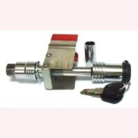 Anti-rattle hitch pin lock