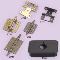 Brass And Iron Door Hinges (Stamped)