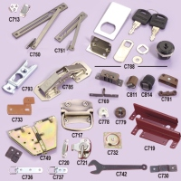 Plastic, Zinc-Alloy And Other Metallic Furniture Parts And Fittings (Stamped, Lathed)