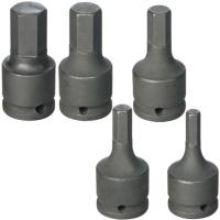 Hex Sockets For Pneumatic Tools/Impact Adaptors