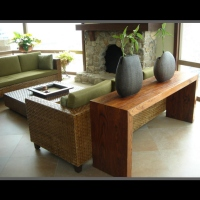 Living Room Furniture (Woven-Wild-Reed)