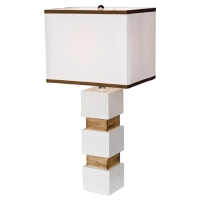 White Table Lamp - 002