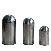 Stainless-steel Push Bin