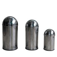 Stainless-steel Push Bin