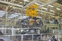 汽車廠車體搬送吊車