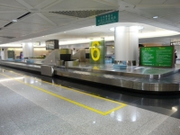 Airport to the Baggage Claim Conveyor Line