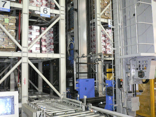 Warehouse in-coming Conveyor Line
