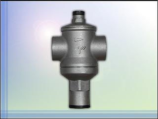 STAINLESS STEEL PRESSURE REDUCING VALVE, PRESSURE REGULATOR, VALVE