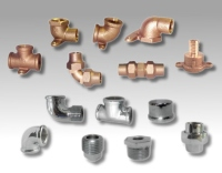 Pipe fittings for water supply