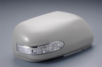 Mirror Cover with LED Indicators