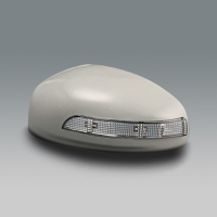 Mirror Covers With LED Indicators