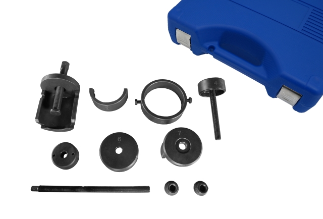 BENZ TIMING CHAINS RIVETING TOOL SET-SINGLE ROW AND DOUBLE ROW