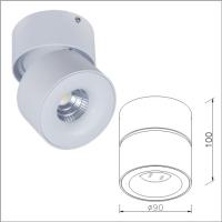 LED light fixtures swivel & tilt adjustable spotlight ceiling lights