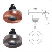 Waterproof IP65 sauna light, stainless steel LED COB light,shelf bulb