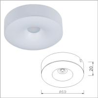 Modern LED Ceiling Light Fixture, Lovely New Custom LED Light