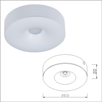 Modern LED Ceiling Light Fixture, Lovely New Custom LED Light