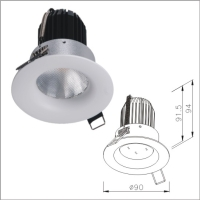 Quality Ensurance IP44 Bathroom Recessed LED Lighting Fixture