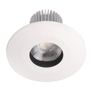 Aluminum LED down light recessed fixed design