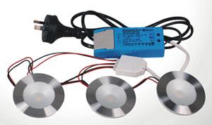 3 Or 6 Ways IP44 Cabinet LED Light Kit