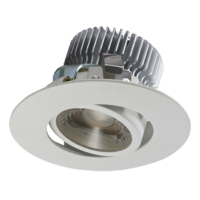 Aluminum 7W 500mA COB LED down light