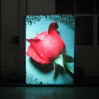 Indoor Virtual Full-color Display