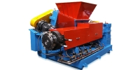 Twin Screw Enforce Feeder with Main Extruder