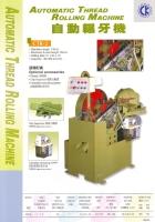 Automatic Thread Rolling Machine